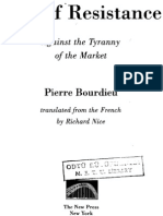BOURDIEU Pierre Acts of Resistance Against the Tyranny of the Market94-108