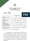 Informe CJC sobre finiquitos en Corts Valencianes