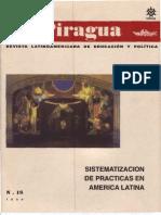 VVAA (1996) Sistematización de experiencias (Revista La Piragua, nro. 16)