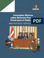 Conceptos Basicos Sobre Reforma Preocesal Penal Para El Ciudadano