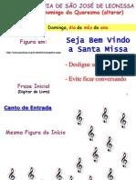 Modelo Para Santa Missa