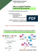 Aula on-line 1 v3 Aminoacidos e a Ligacao Peptidica