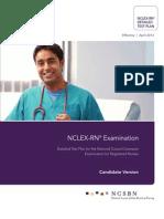2013 NCLEX RN Detailed Test Plan Candidate