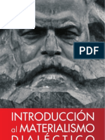 Introduccion Al Materialismo Dialectico