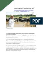 Bufalos, Actor Dela Paz en Colombia.