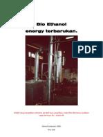 Mengenal Bio Ethanol