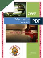 Sidur corto para cada Shabbàt semanal