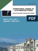 International Journal of Latin American Studies. Year 2, Vol.1, No.2 ISSN 2234-0718
