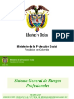 Riesgos Profesionales Antioquia 2011