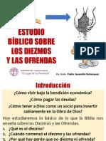ESTUDIO SOBRE LOS DIEZMOS Y LAS OFRENDAS.ppt
