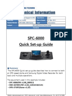 SPC-6000 Quick Guide