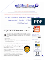 Compilers Basics for IBPS IT Officers Exam