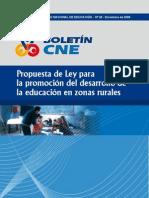Consejo Nacional de Educacion Sobre Educacion Rural