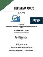 Tarea 5 Educacion a Distancia