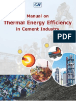126584308 Thermal Energy Efficiency in Cement Industry