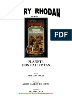 P-452 - Planeta Dos Pacifistas - William Voltz