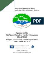 5th WRHC Final Agenda 2013