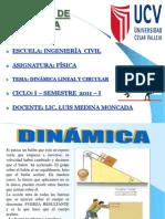 DINÁMICA LINEAL Y CIRCULAR