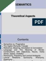 SEMANTICS (Theory) - Forma Finala