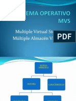 Sistema Operativo Mvs