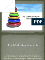 The Marketing Research