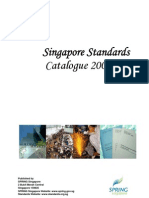 Singapore Standards Catalogue 2004-05