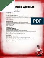 The v Shape Workouts