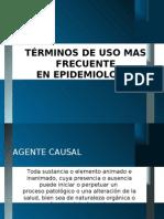 Terminologia Epidemiologica II
