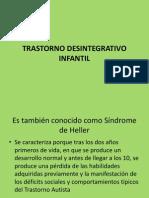 Trastorno Desintegrativo Infantil y Rett