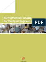 Supervision Guide for Electrical Engineering Works (30 Jan 2012)