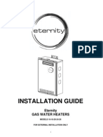 Eternity t Installation Guide