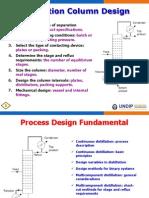 01 Process Design Fundamental of Distillation