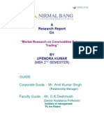 project on future commmodity trade.doc
