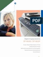 Panasonic DP-8020E Features