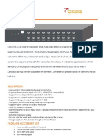 CK4L1000 Catalogue and specification sheet LED video processor, mini Video converter , contact linqingfeng @ckdz.com