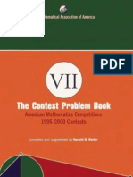 The Contest Problem Book VII American Mathematics Competitions 1995 2000