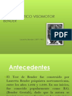 TEST GESTÁLTICO VISOMOTOR