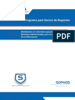 Brochure Canales SOPHOS