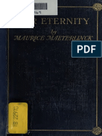 Maurice Maeterlinck - Our Eternity (2) 1913; Mysticism