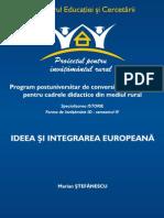 Ideea Europeana!Stefanescu!