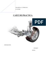Caiet de Practica - Service Auto
