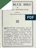 Maurice Maeterlinck - The Blue Bird (1) 1911