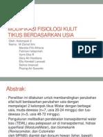 Modifikasi Fisiologi Kulit Tikus berdasarkan Usia.pptx