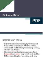 Biokimia Dasar