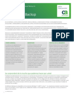CA Arcserve Backup r16 Product Brief Spa
