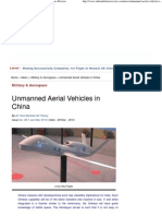 Unmanned Aerial Vehicles in China » Indian Defence Review