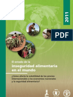 Informe Inseguridad Alimentaria Fao 2011