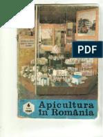Apicultura in Romania 1980 Nr. 6 Iunie