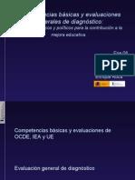 Competencias basicas y evaluacion diagnostico Albacete ene08