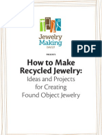 Free Recycled Jewelry Making Projects